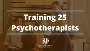 Training 25 Psychotherapists on Parent-Teen Control Battles