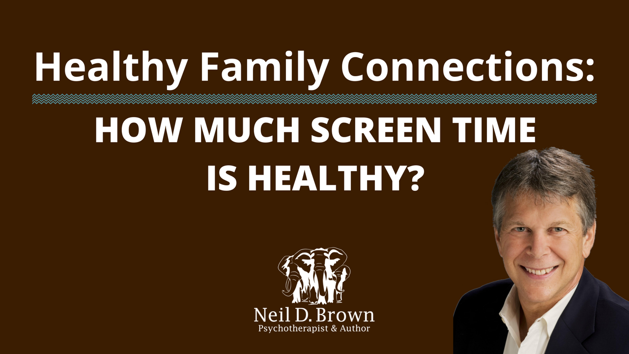 How Much Screen Time Is Healthy?