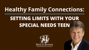 Setting Limits With Your Special Needs Teen