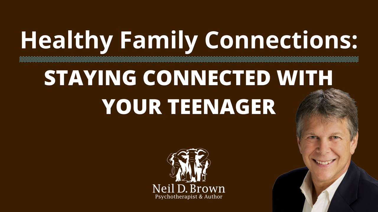 Staying Connected With Your Teenager