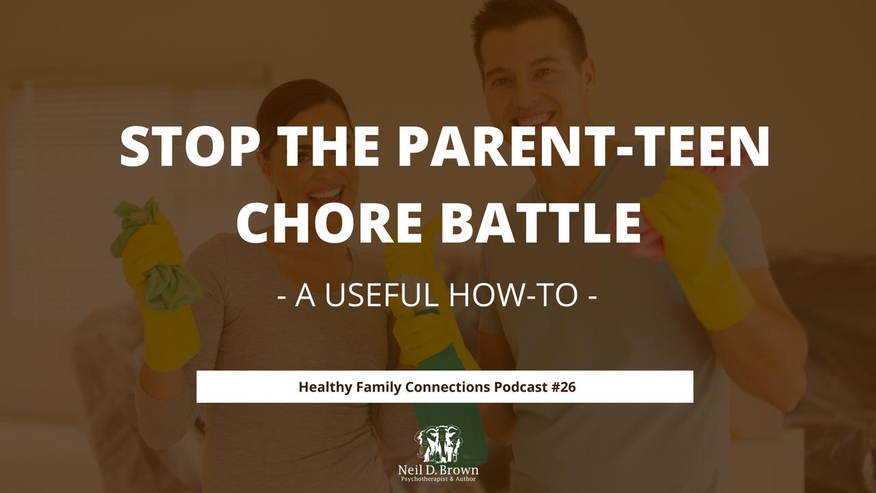 Stop the Teen Chore Battle