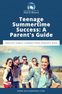 Teenage Summertime Success_ A Parent's Guide