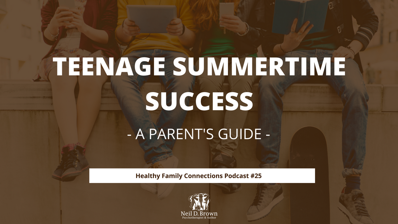 Teenage Summertime Success- A Parent's Guide (Main)