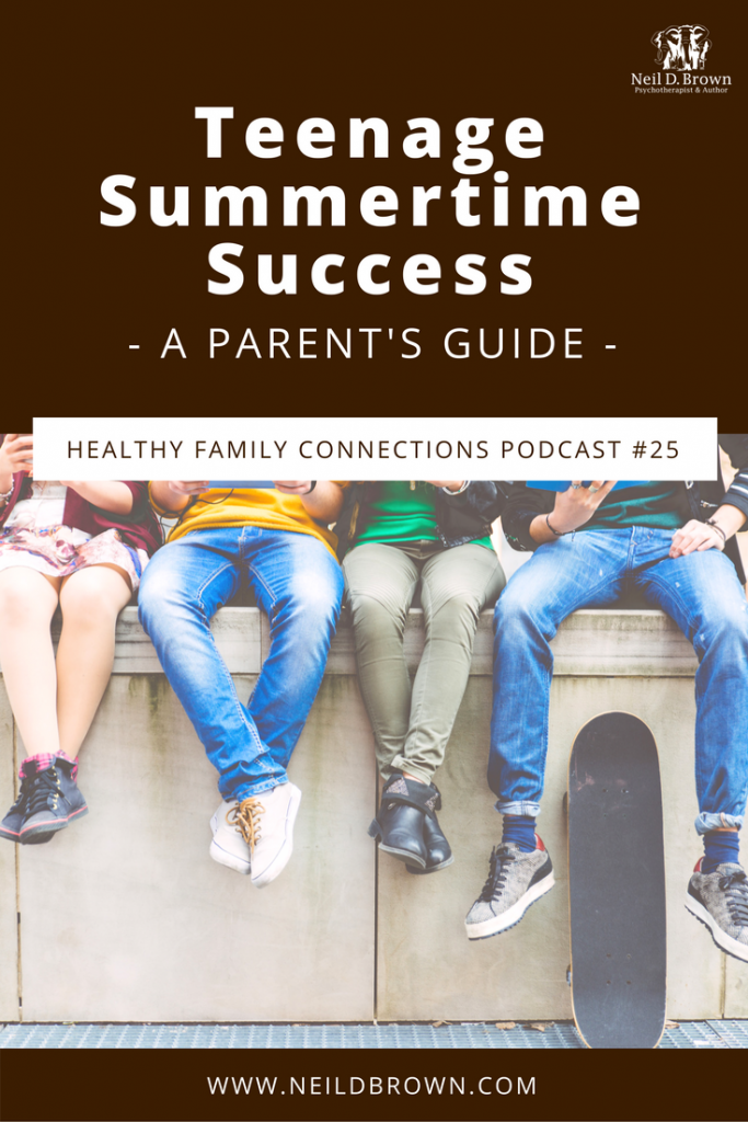 Teenage Summertime Success: A Parent's Guide