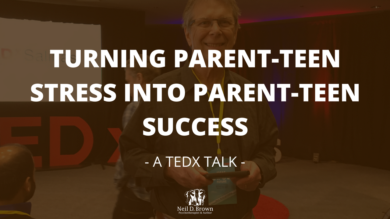 Turning Parent-Teen Stress Into Parent-Teen Success