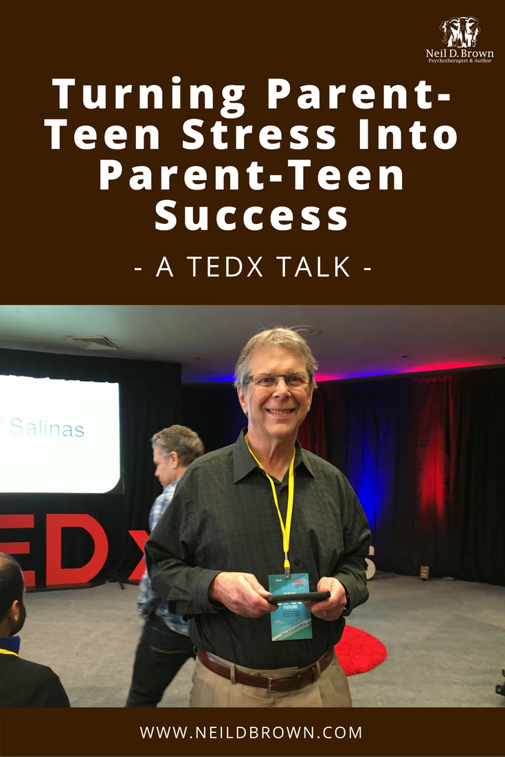 Neil is thrilled to announce the publication of his first TEDx talk on the topic of overcoming the control battle between parents and teens.