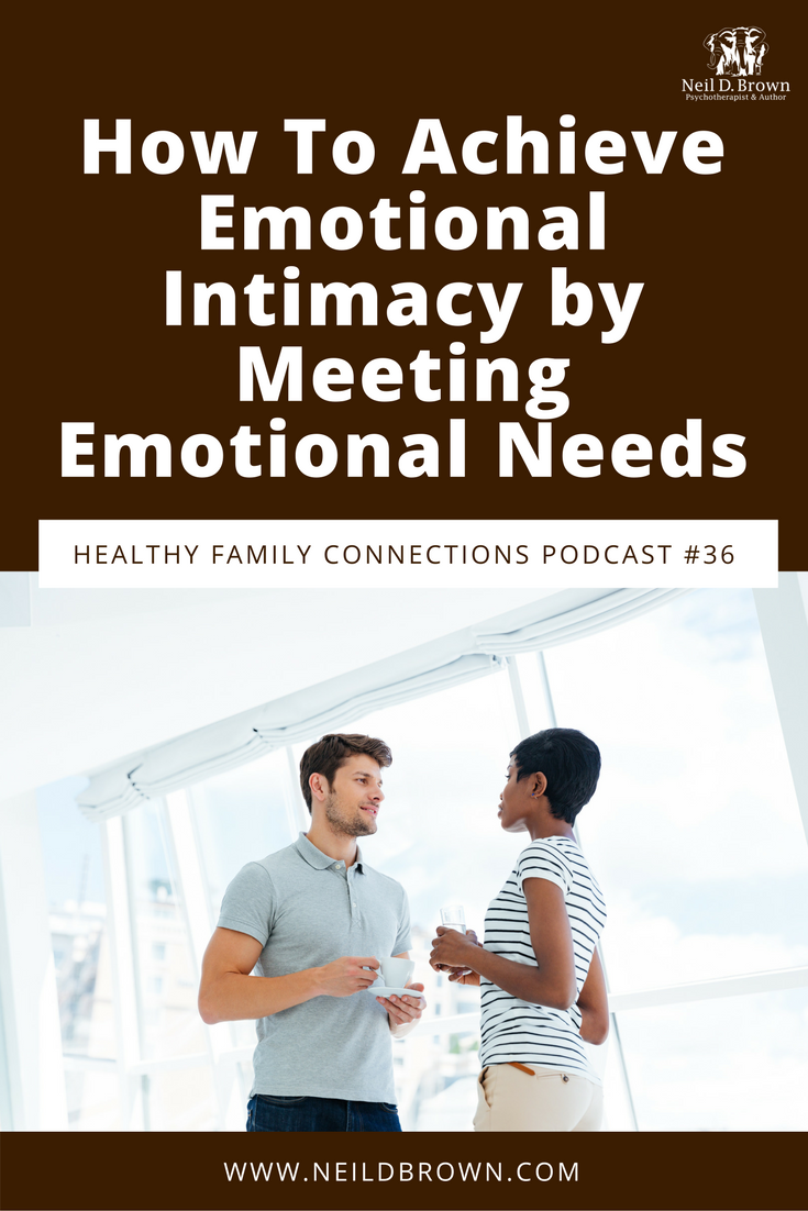 Episode 036 · Are you confident you're getting your emotional needs met and are meeting those of your family? If your family is struggling, you might not be.