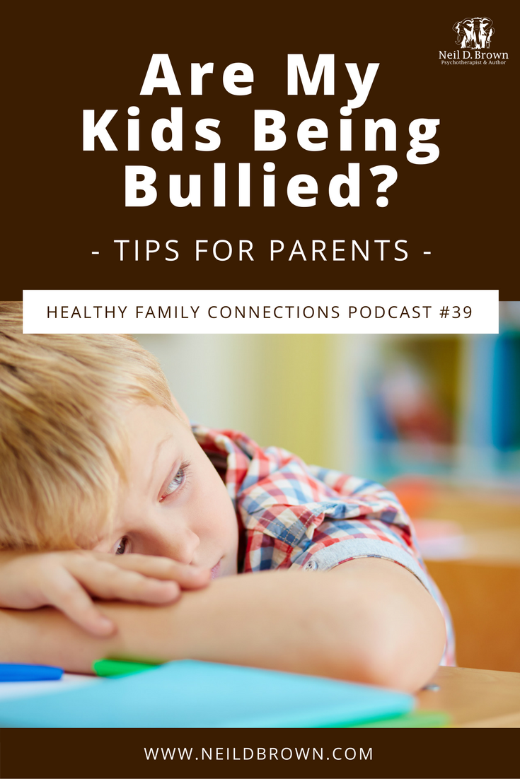 Episode 039 · Do you ever wonder if your child is the victim of bullying? You're not alone. Learn what you can do to help your child if they're being bullied.