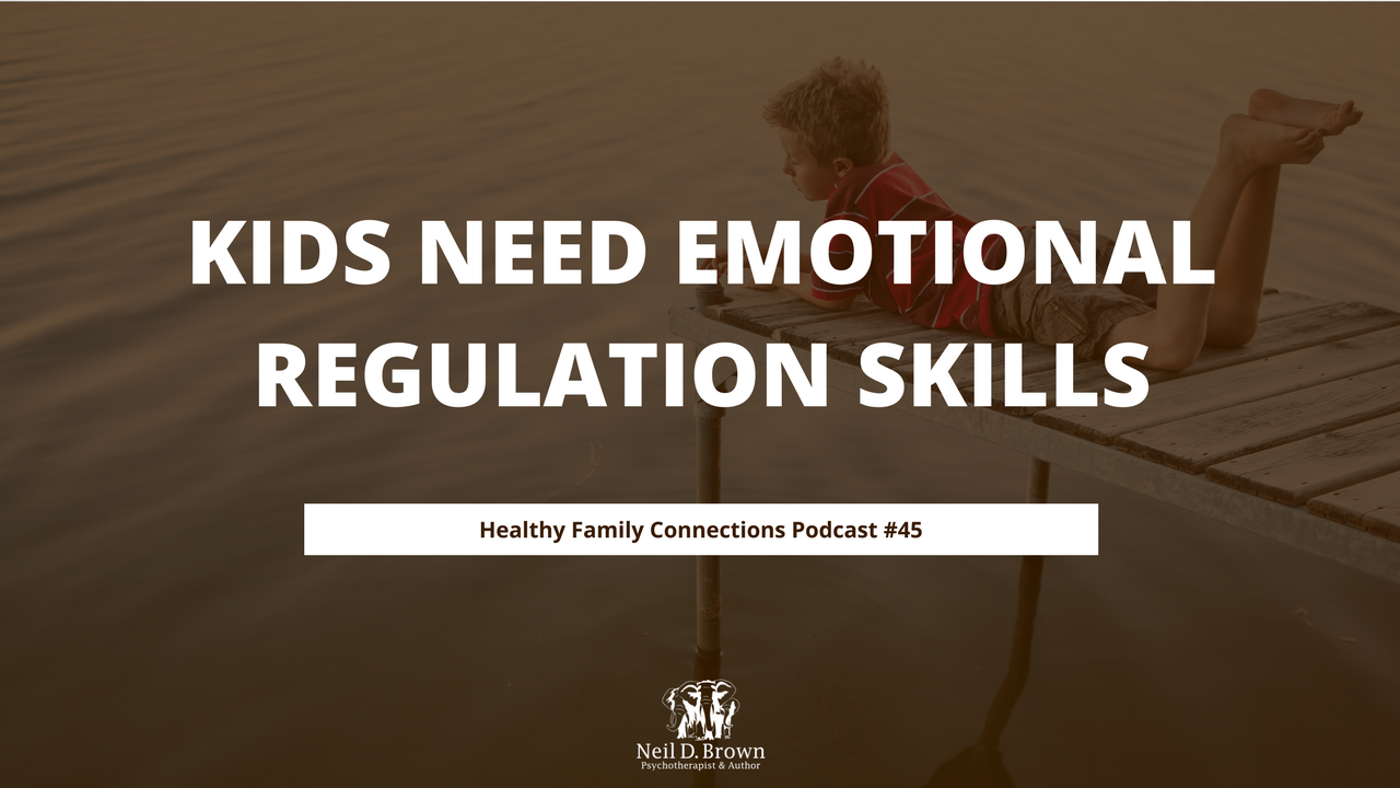 Kids Need Emotional Regulation Skills