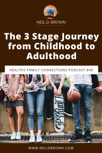 The 3 Stage Journey from Childhood to Adulthood