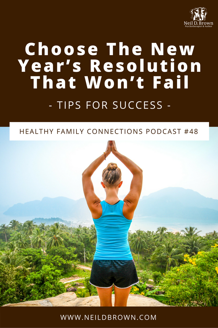 Episode 048 · Want to make a resolution you can commit to in 2018? The key to succeeding is changing how you approach your new changes. Let me show you how.