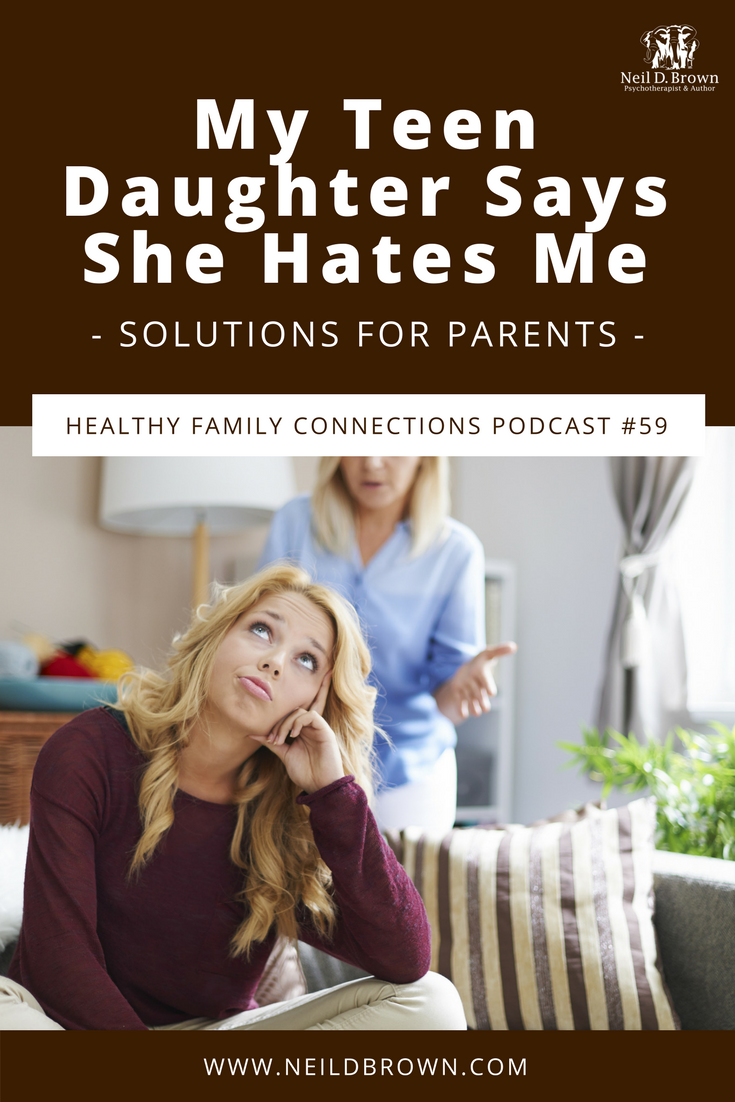 Does your teen become emotional and upset when things don't go her way? It seems that no matter what efforts you put in, nothing helps. I offer solutions to help you resolve this control battle with your teenager.