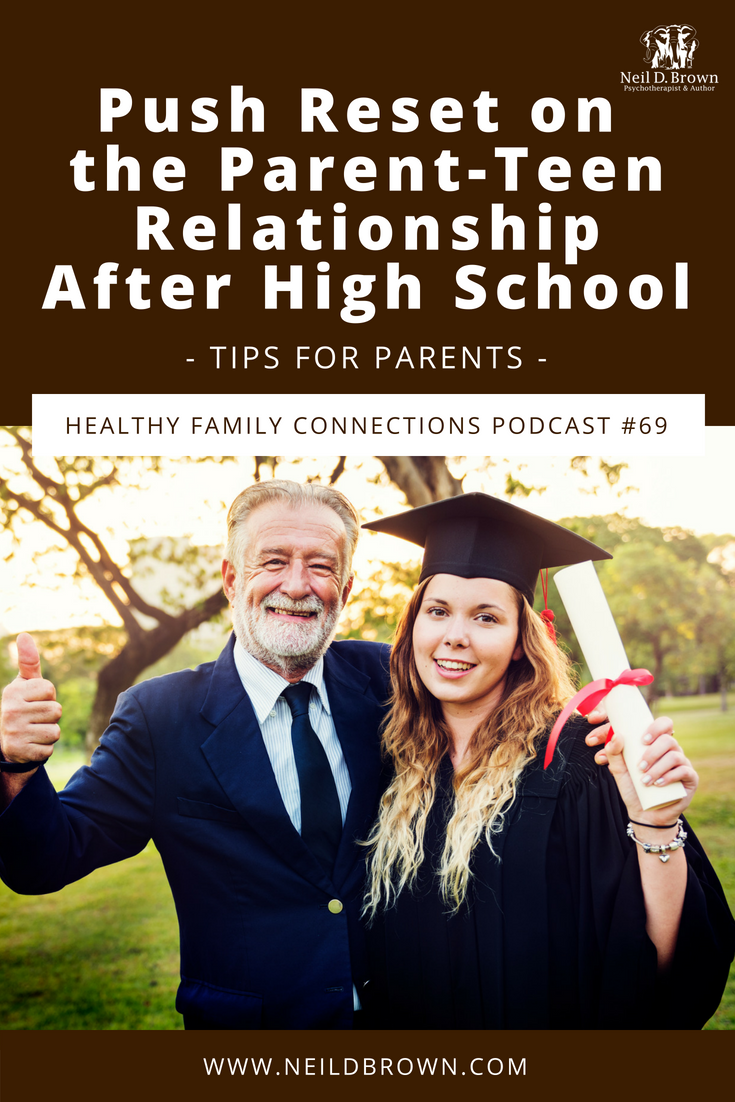 The transition from teen to young adult is a big one. You may need to make some changes in the dynamic of your parent-teen relationship. Check out this episode for tools to help navigate this life change.