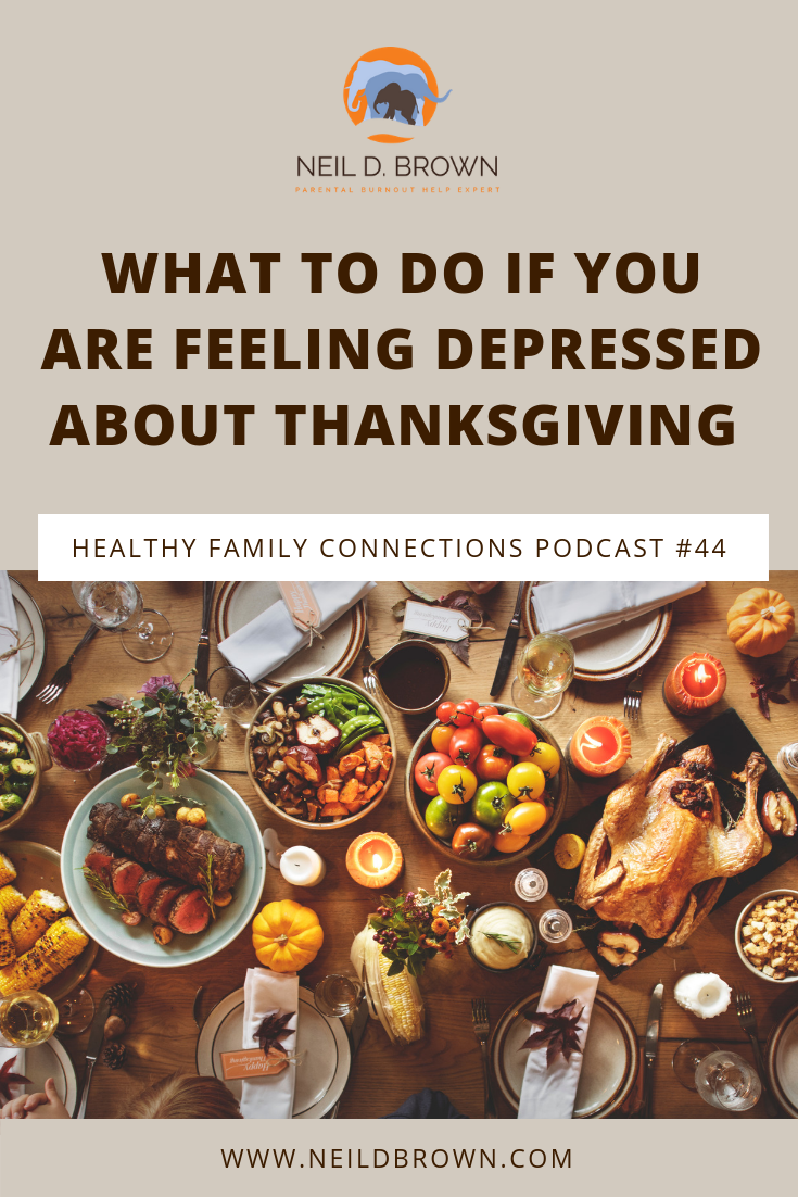 Episode 044 · Looking to make Thanksgiving a little less stressful with your family this year? I can help you create a strategy that will work for everyone.