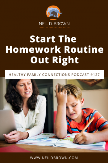 Start The Homework Routine Out Right